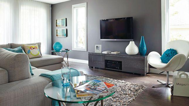 Le tourbillon de la vie | Les idées de ma maison © TVA Publications | Yves Lefebvre #deco #salon #sejour