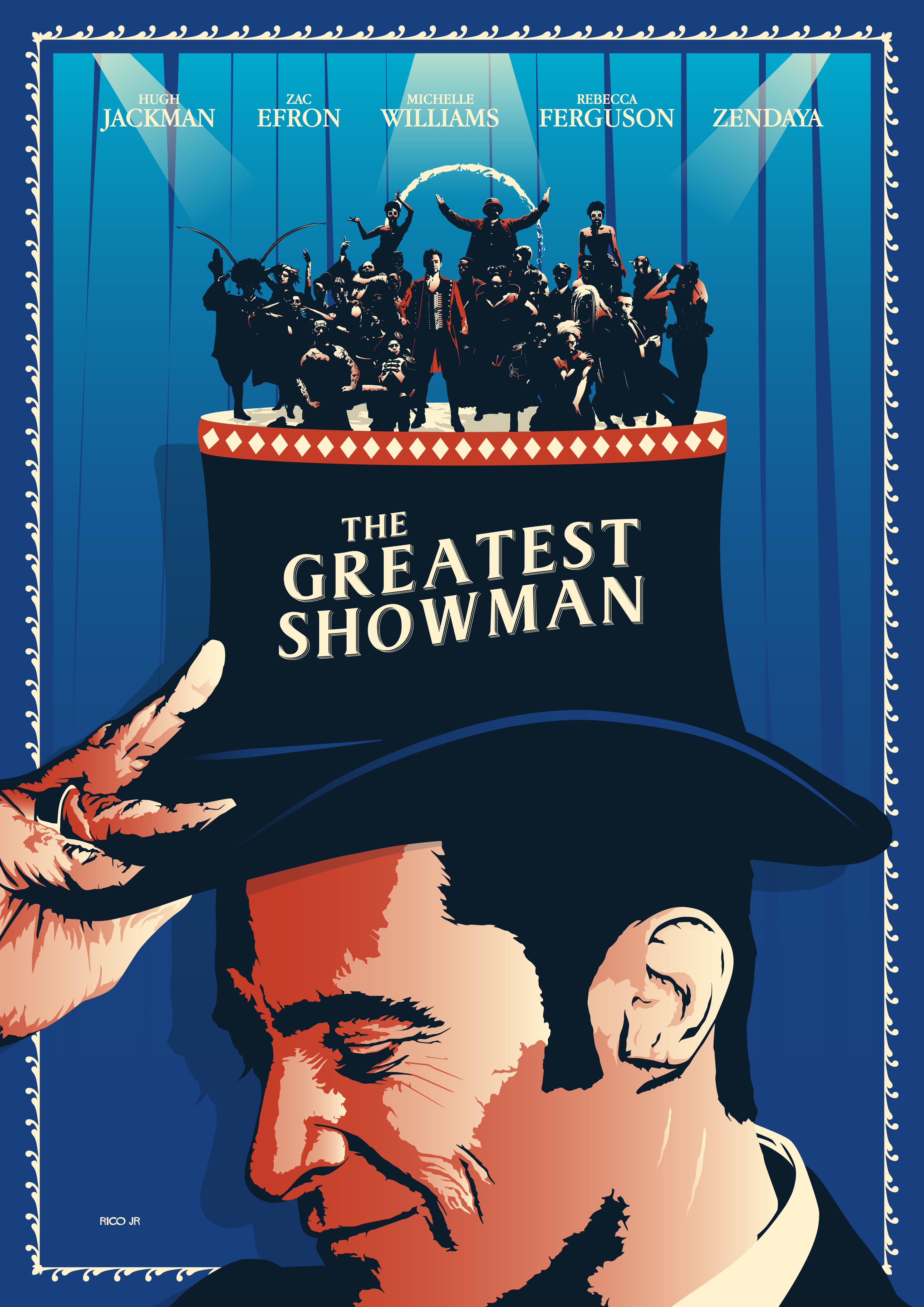 Decouvrez Ce Projet Behance The Greatest Showman Poster Art Https Www Behance Net Gallery 63771665 Showman Movie The Greatest Showman Broadway Posters