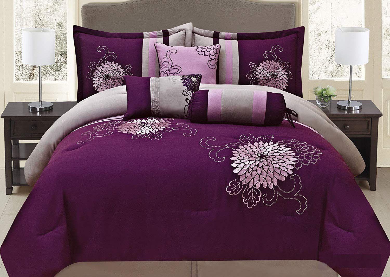 Lavender Comforters Lavender Comforter Casual Bedroom Design