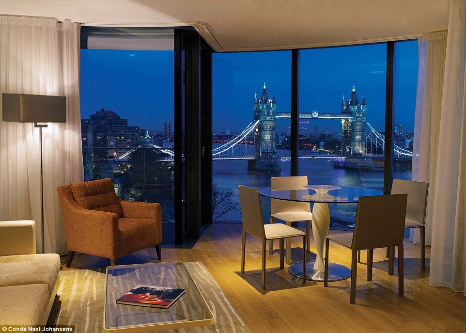 Room With A View Panoramic Views Of The London Landmarks Landed Cheval Three Quays