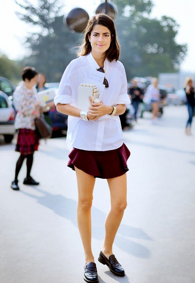 13 Style Tricks That Will Instantly Update Your Basic Button Up via @WhoWhatWear