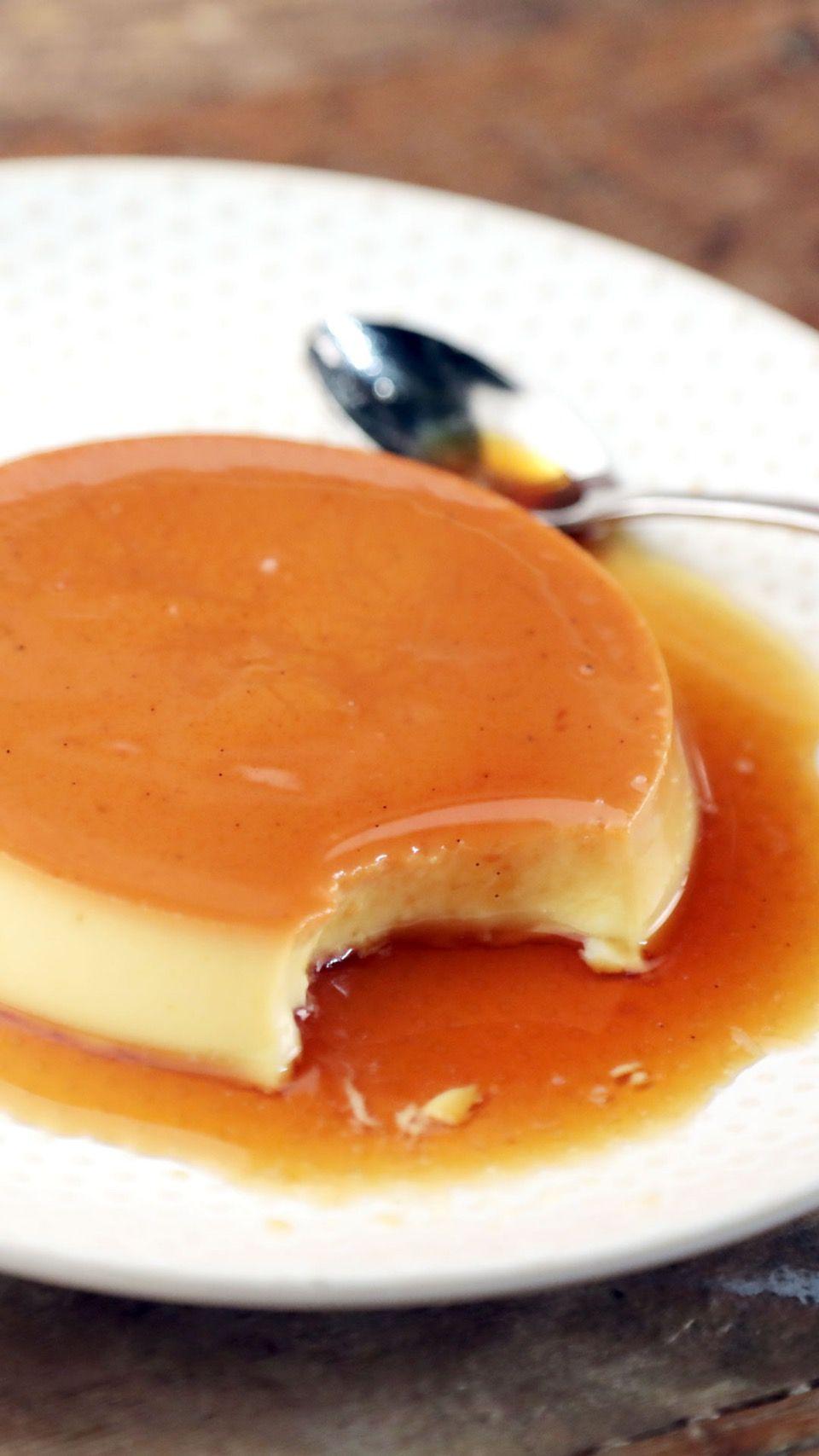 Escoffier S Caramel Cream Recipe Tastemade Recipes Caramel Cream Recipe Food