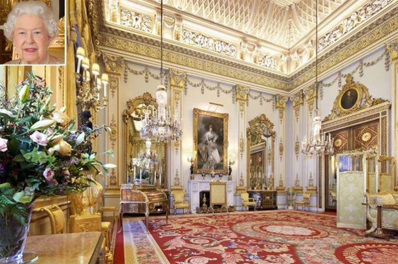 See Rare Glimpse of Buckingham Palace's White Drawing Room