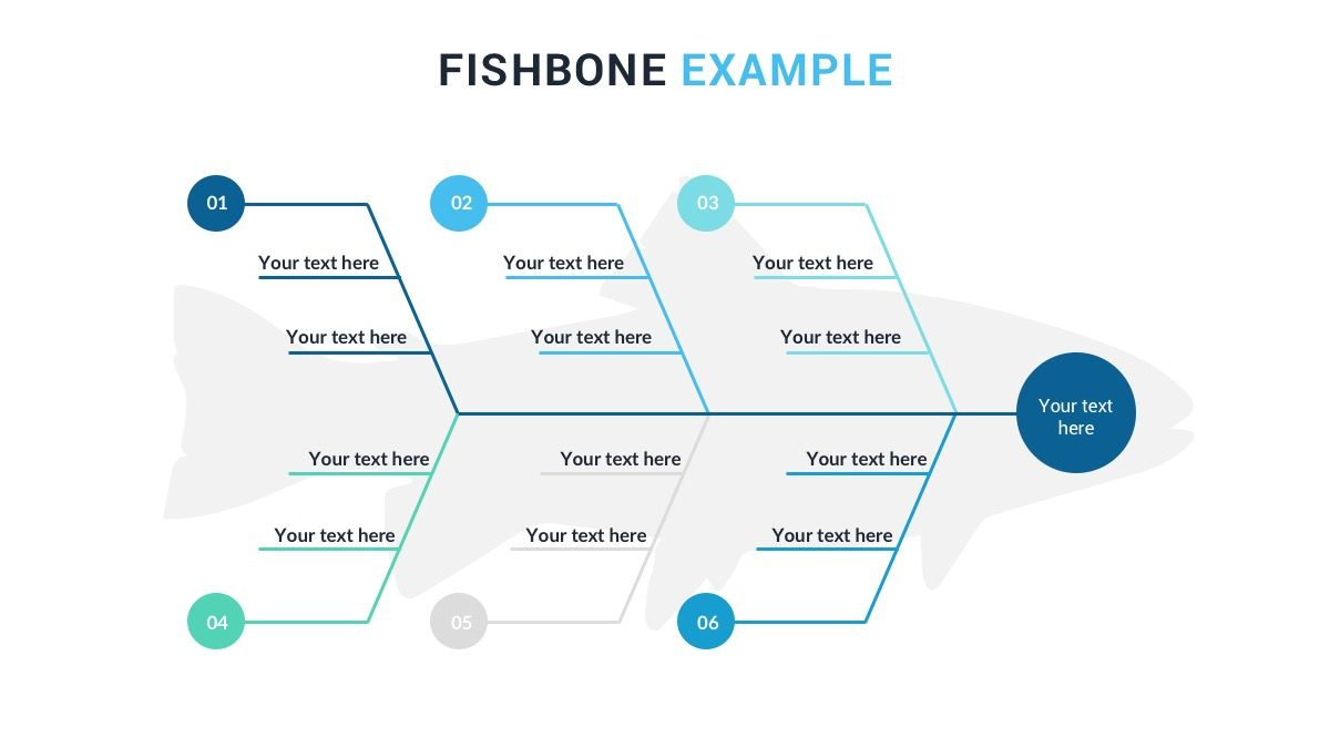 Fishbone Diagram Free Powerpoint Presentation Template Ishikawa Diagram Powerpoint Template Free Best Templates