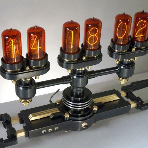 Diy Design Objects: FRANK BUCHWALD MACHINE LIGHTS