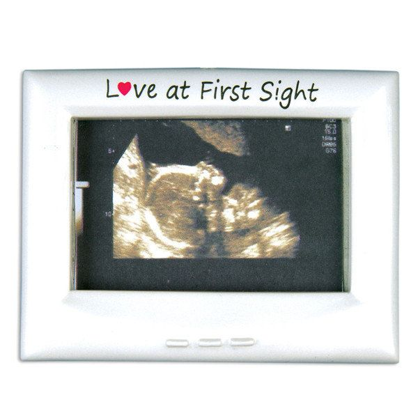 Personalized Baby\'s First Christmas Ornament Ultrasound Frame , We ...