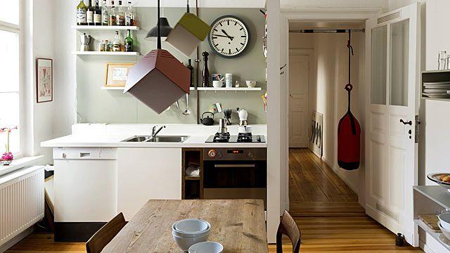 auch eine kleine k che l sst sich geschickt einrichten quelle imago westend61 k chen. Black Bedroom Furniture Sets. Home Design Ideas