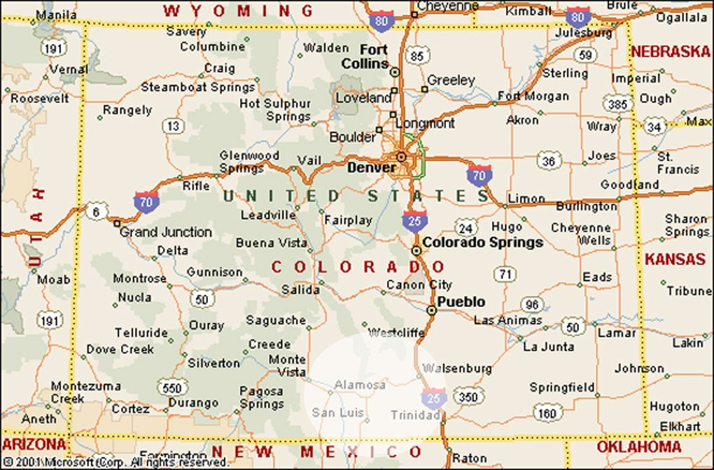 Map Of Colorado Google Search Geography Pinterest Geography - Coloradomap