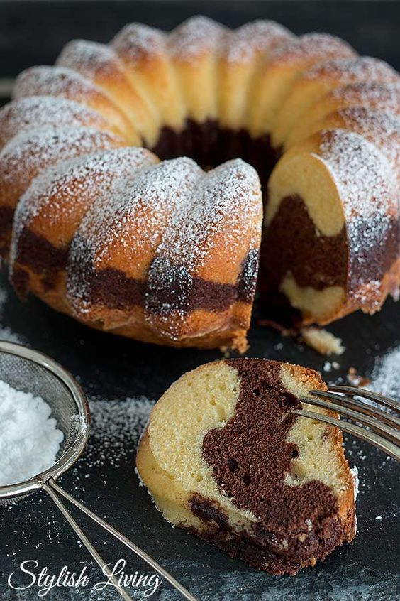 ¡El pastel de mármol siempre funciona! | Estilo de vida