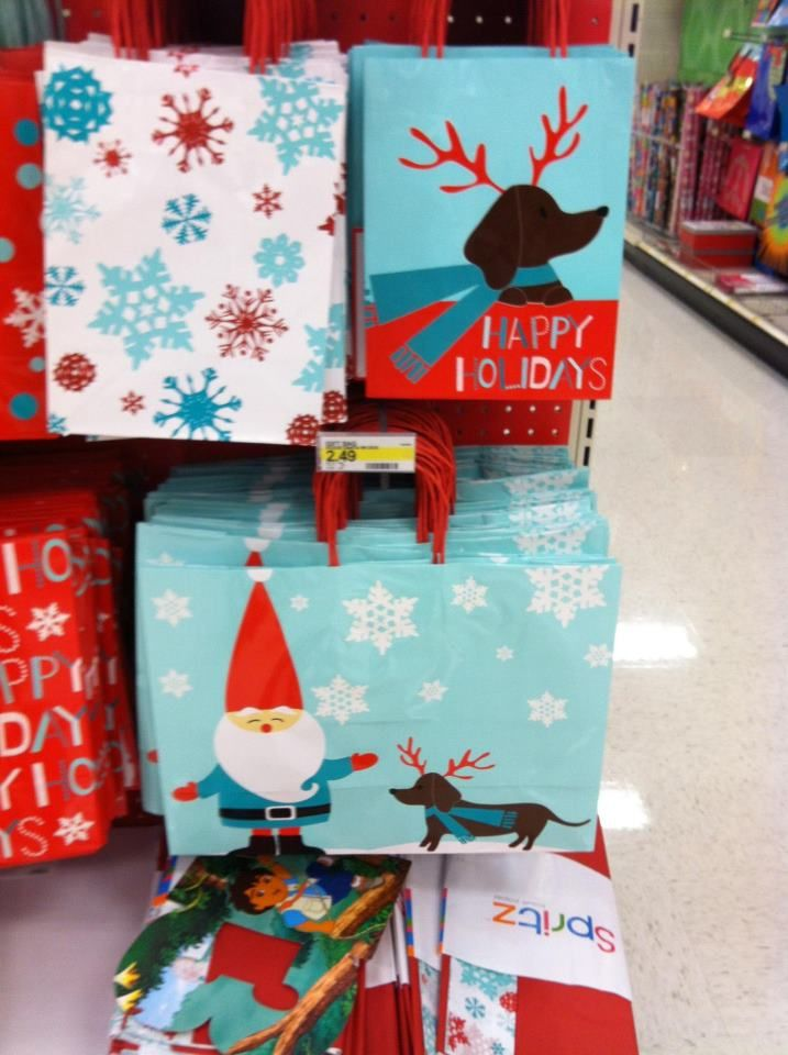Dachshund Themed Gift Wrap At Target