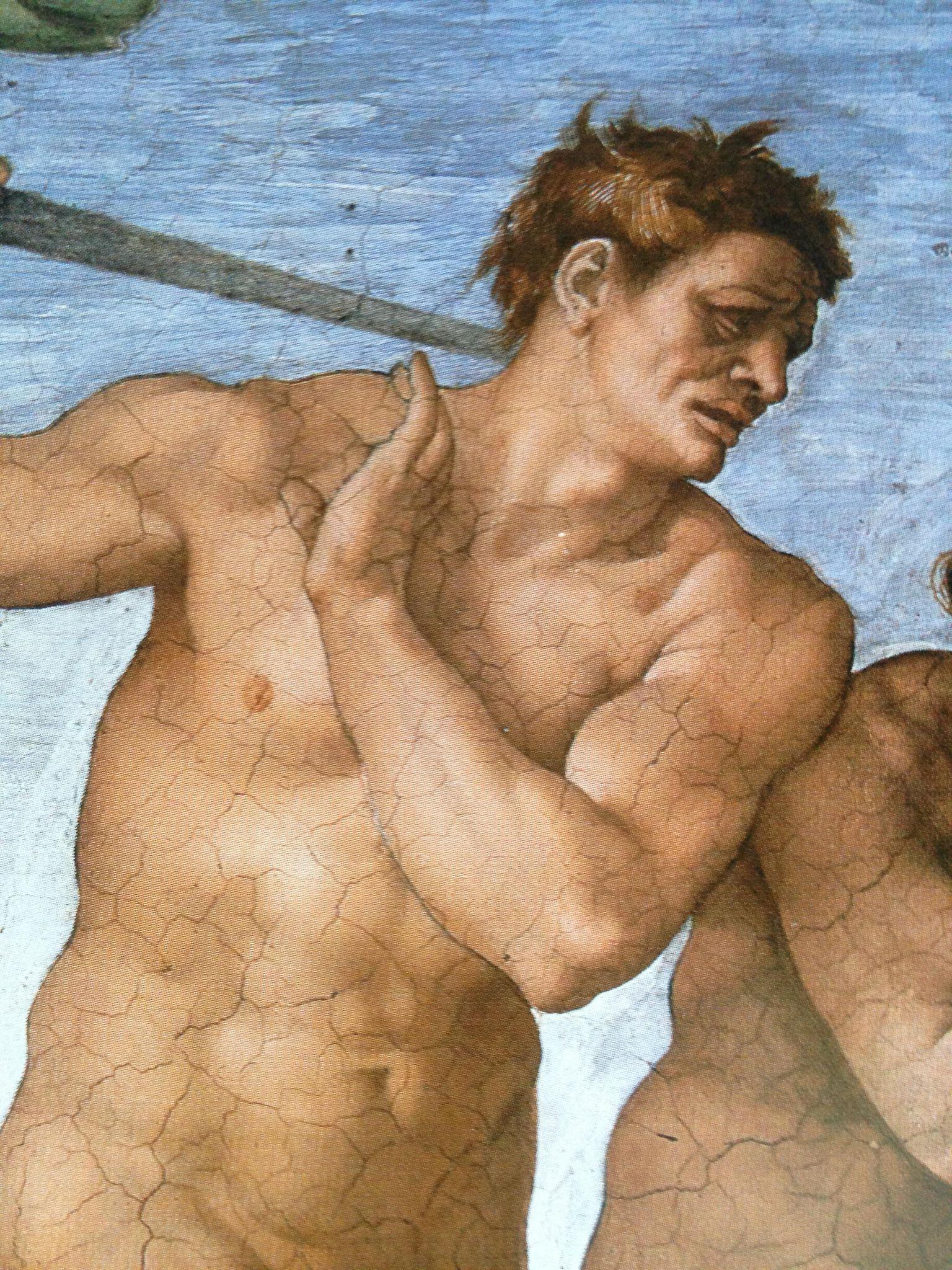 https://flic.kr/p/nbBqfc | Luigi Speranza -- Buonarroti -- #ADAMO -- Adamo nella pittura italiana --. | Luigi Speranza -- Buonarroti