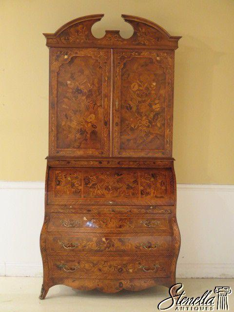 Antique Furniture · L28194E: Italian Marquetry ...
