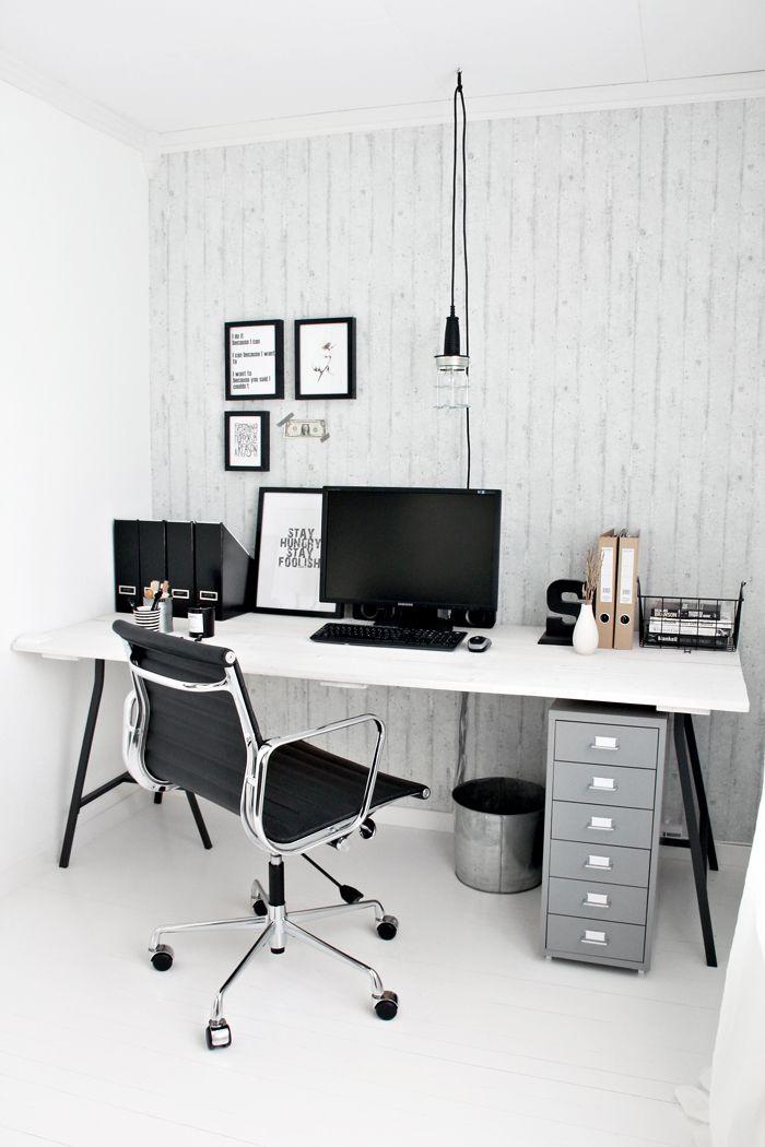 gentle modern home office. Industrial Workspace : Home Office Inspiration Gentle Modern L