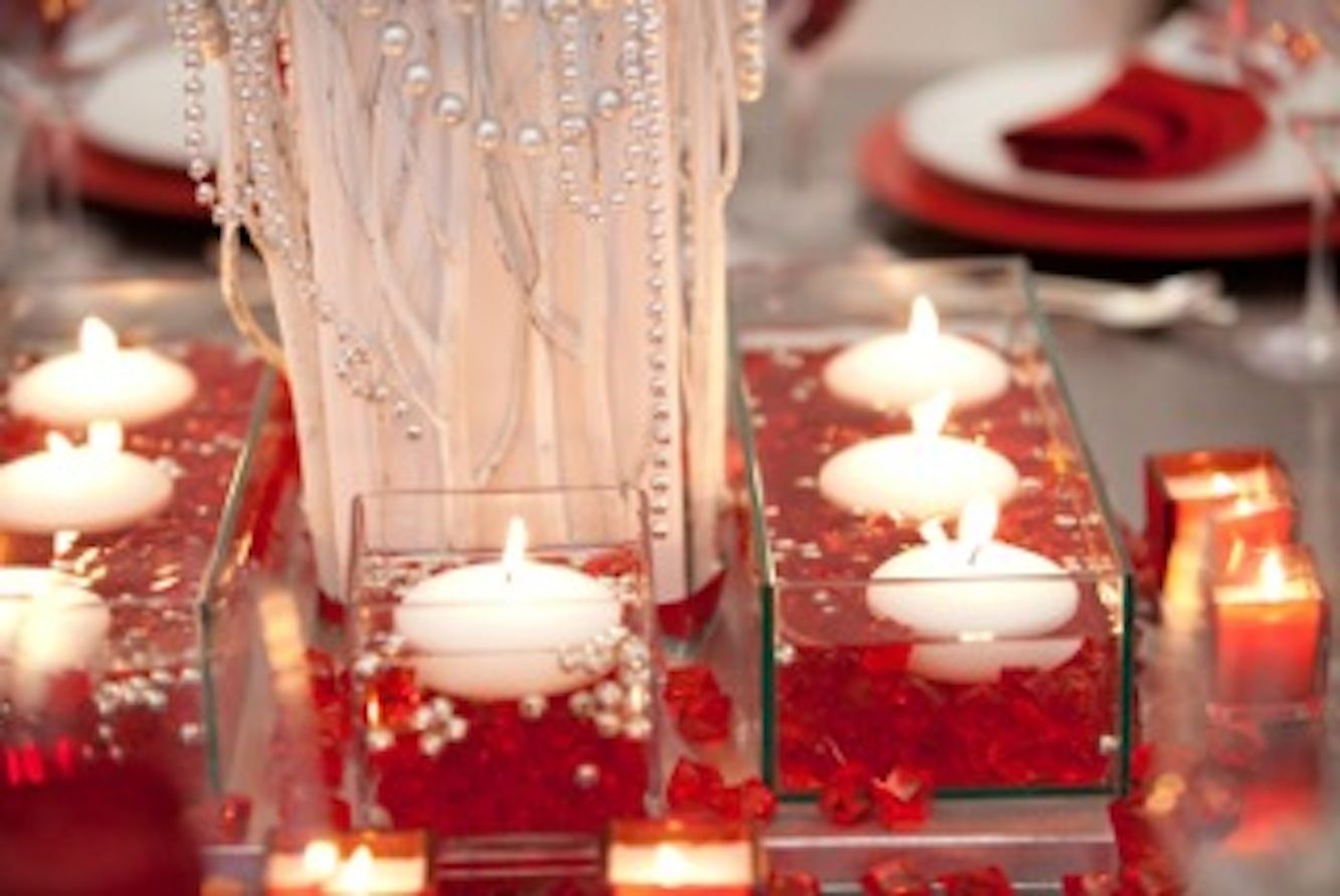 Ruby red decorations for the 40th anniversary weddings for 40th anniversary decoration ideas