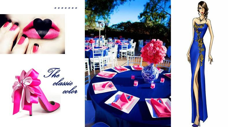 10 Of The Best Colors Matching Royal Blue Pink Wedding