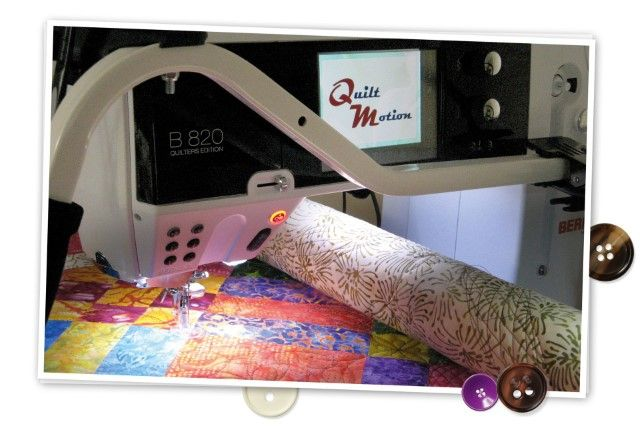 BERNINA QuiltMotion –Want this!