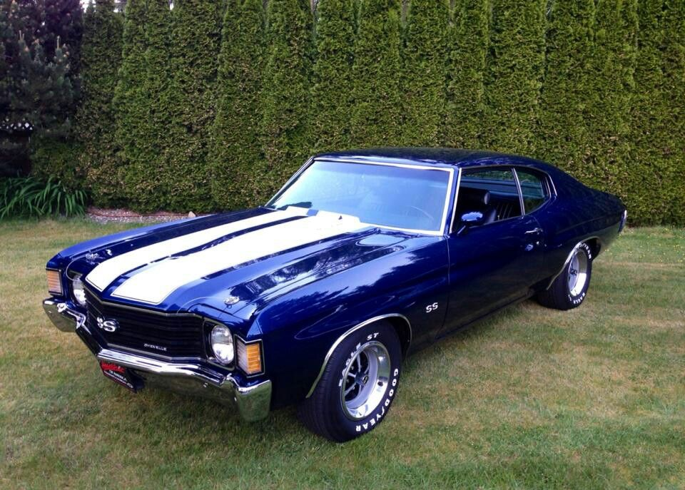 1972 Chevelle Racing Stripes Makes Everything Better D Cars