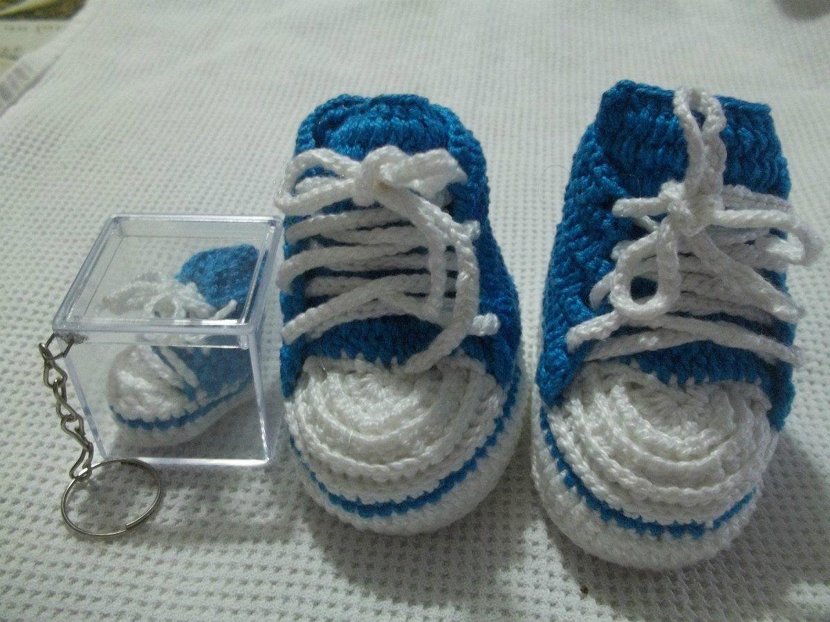 tenis de bebe de croche - Pesquisa Google | Baby Modelos | Pinterest