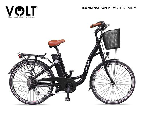 5827192eb81 VOLT Burlington Step Through Classic Electric Bicycle