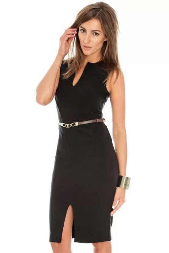 aca3ecb328 El clasico vestido negro