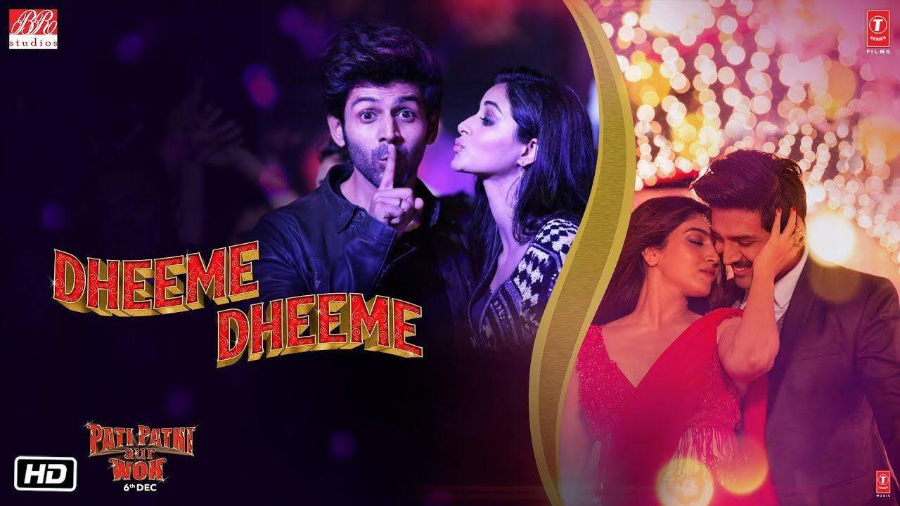 For N E V S E V Us Pati Patni Aur Woh Dheeme Dheeme Video Kartik A Bhumi P Ananya P Romantic Comedy Film Songs Trending Songs