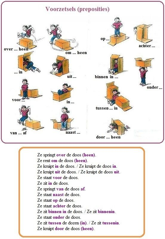Preposition In Learn In Marathi All Complate: VOORZETSELS (PREPOSITIES) / Prépositions / Prepositions