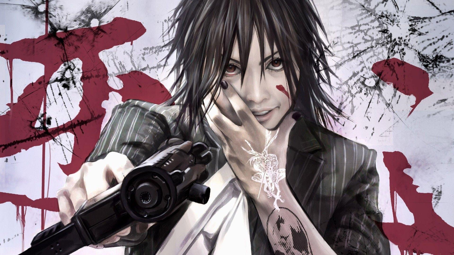 Pin By Skylaa On Anime Anime Characters Wallpaper Anime Background Anime Wallpaper Anime boys with guns wallpaper