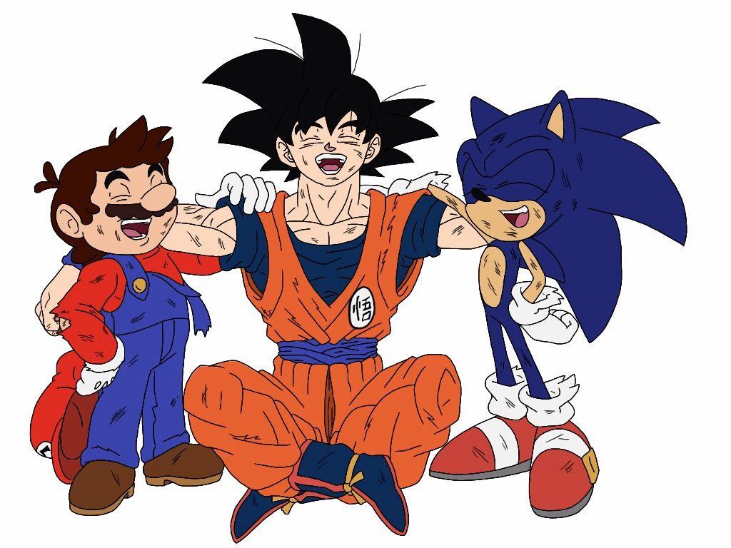 Sonic crossover with dragon ball  deviantART More Like Saiyan vs