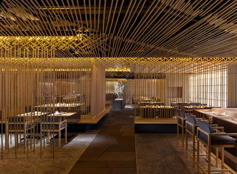 Kengo Kuma Builds Hong Kong S Take Restaurant Entirely Out Of