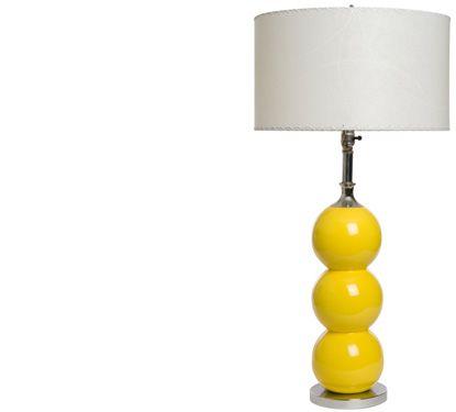 Lamp Restoring And Building Tips Diy Lamp Simple Decor Yellow Lamp