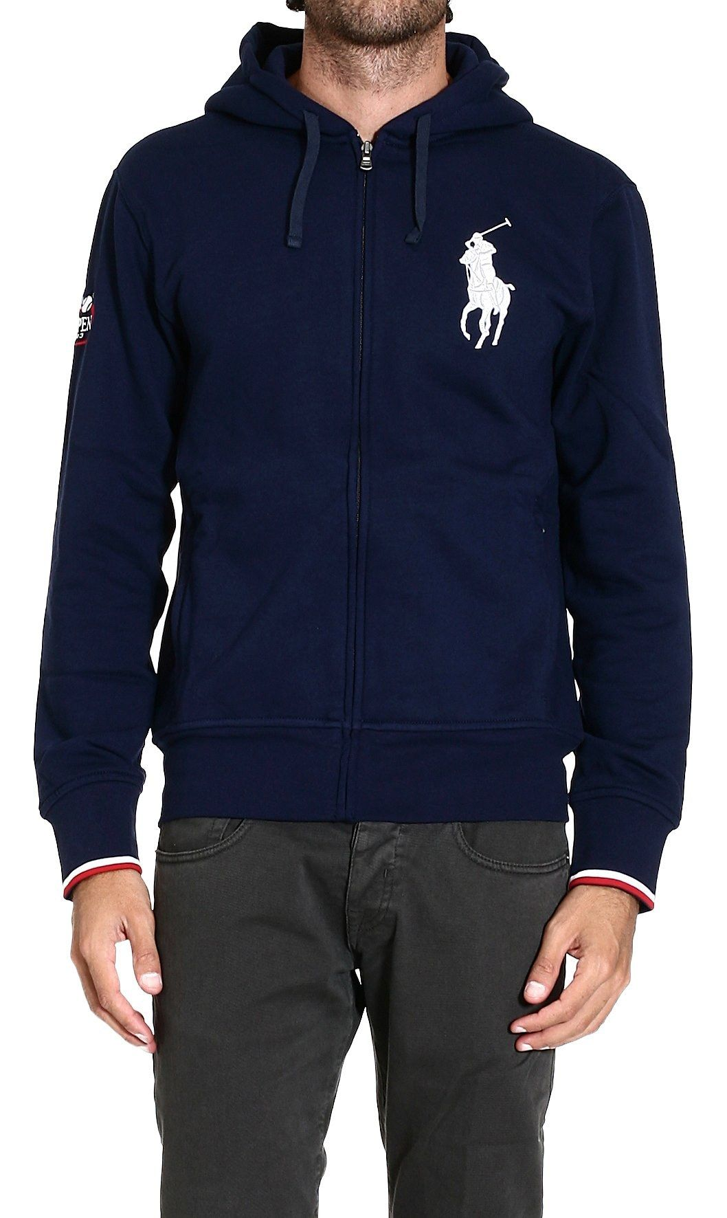 4e0eaccd4 Polo ralph lauren Sweater Sweatshirt with Hood Big Pony in Blue ...
