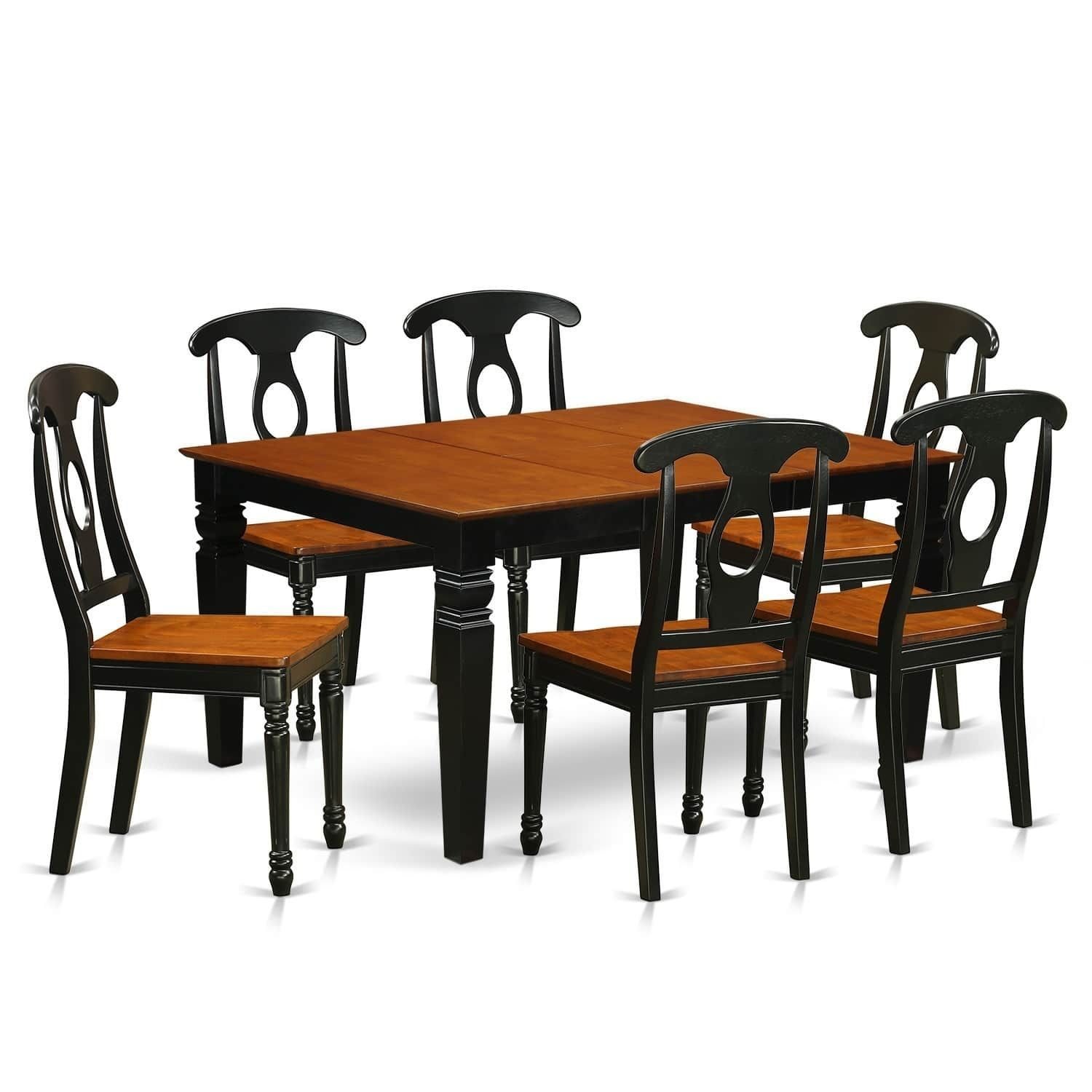 Kitchen table with bench seating and chairs  WEKEBCH  Pc table set with a Dining Table and  Kitchen Chairs