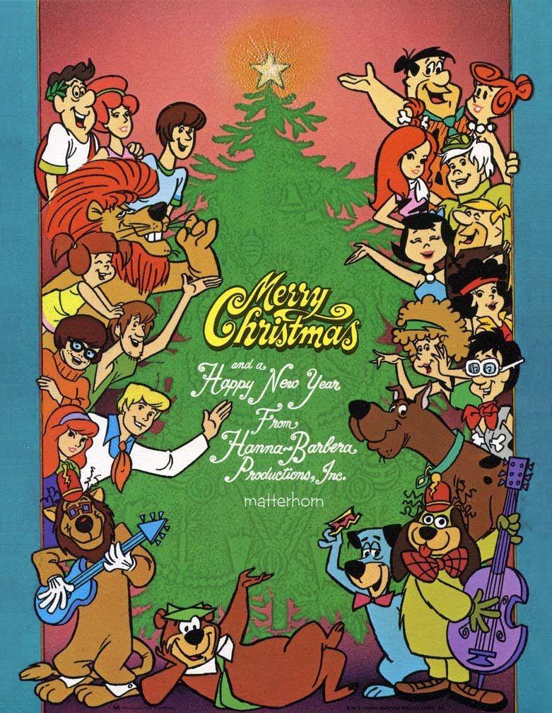 hannah barbera Christmas cartoons, Old school cartoons