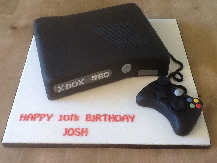 Xbox cake ideas xbox360 by cherryscakes cakesdecor for Decoration xbox one