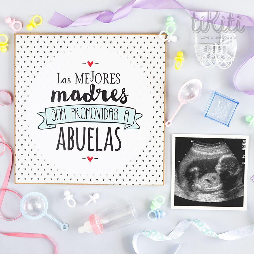 Lista Para Ser Abuela Las Mejores Madres Son Promovidas A Abuelas Anuncio De Embarazo A Abuelos Ideas De Anuncio De Embarazo Anuncio De Sorpresa De Embarazo