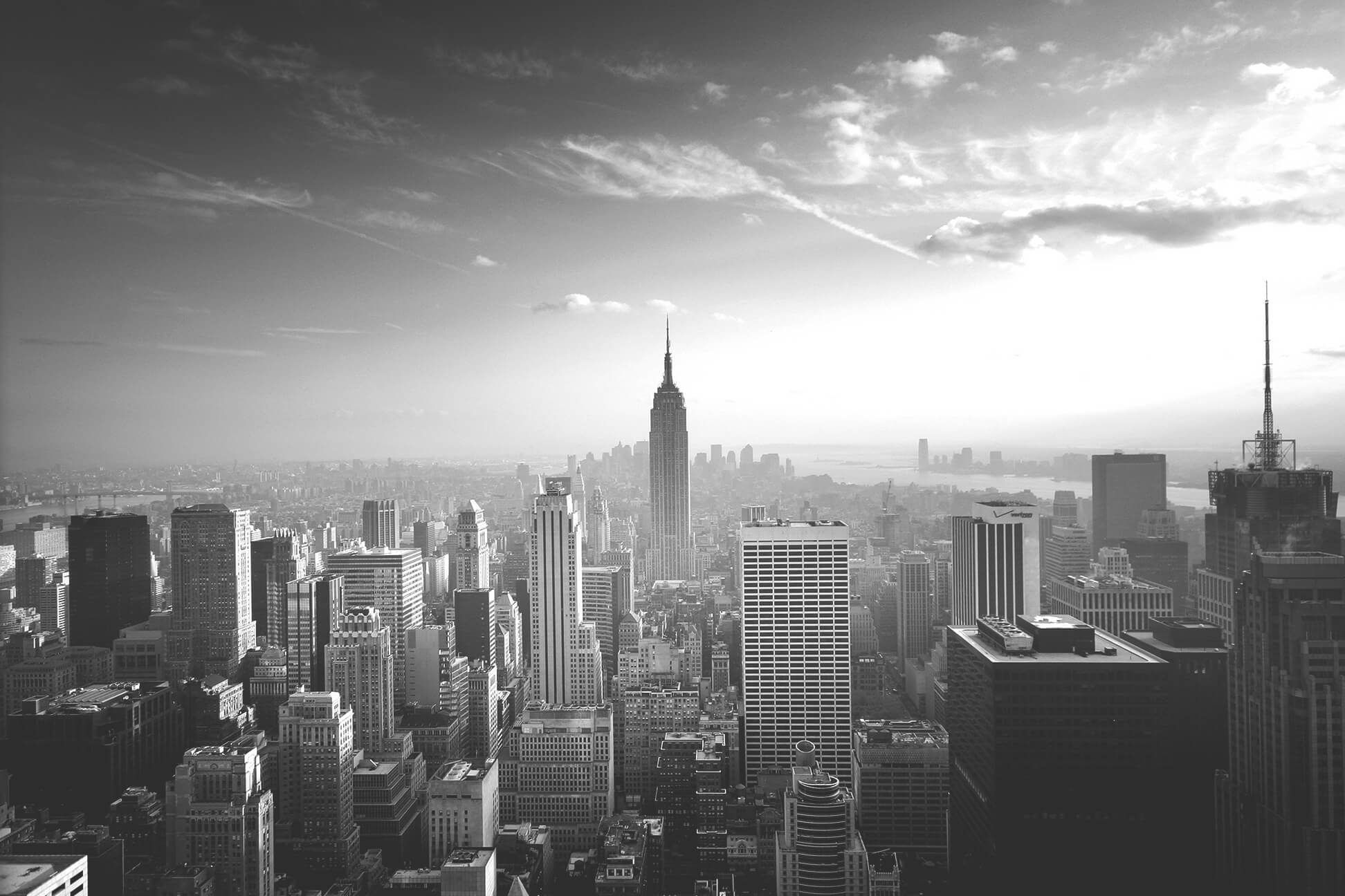 Empire State Cityscape Wall Mural Empire State Wall Murals And Empire