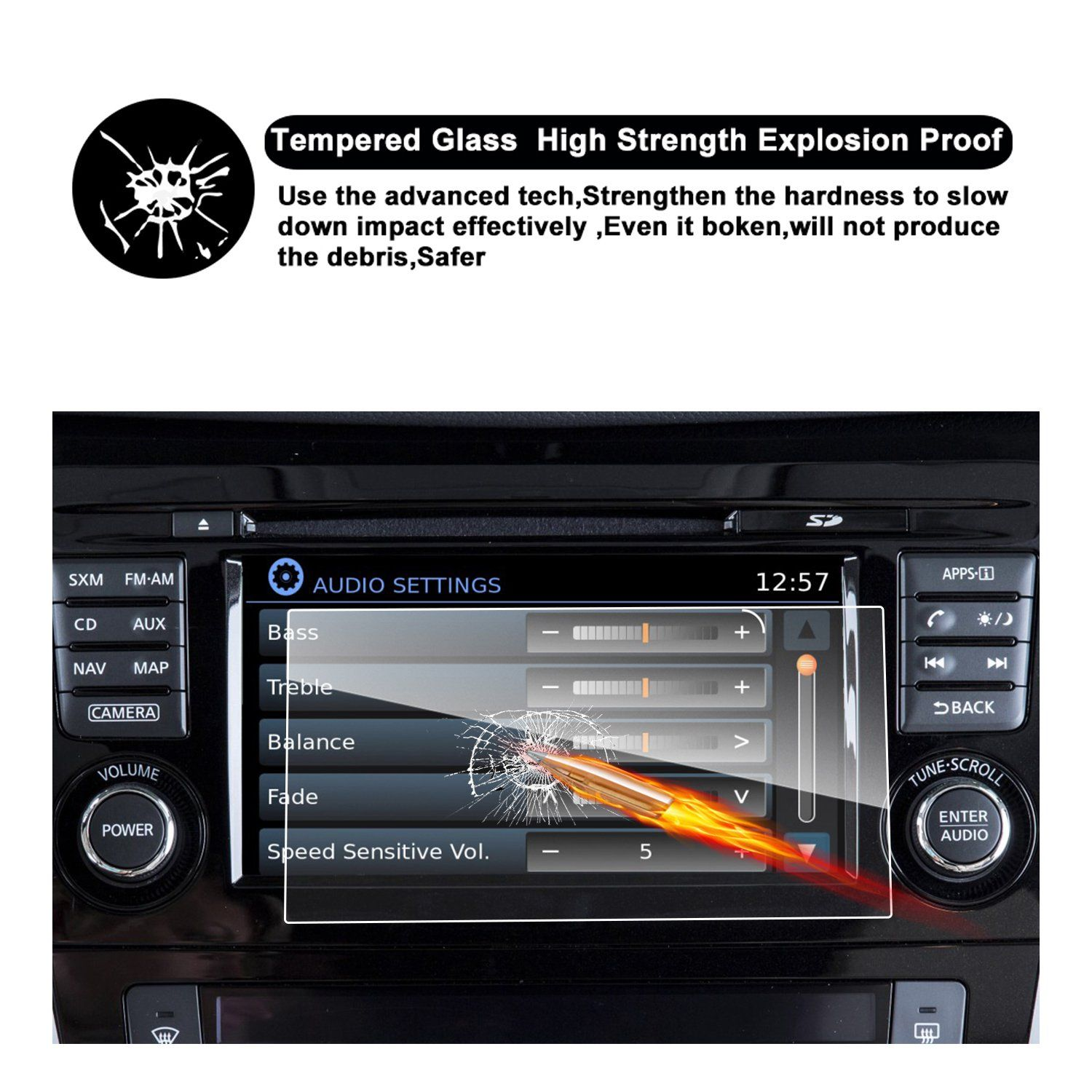 2017 Nissan Rogue Sport NissanConnect 7Inch Touch Screen