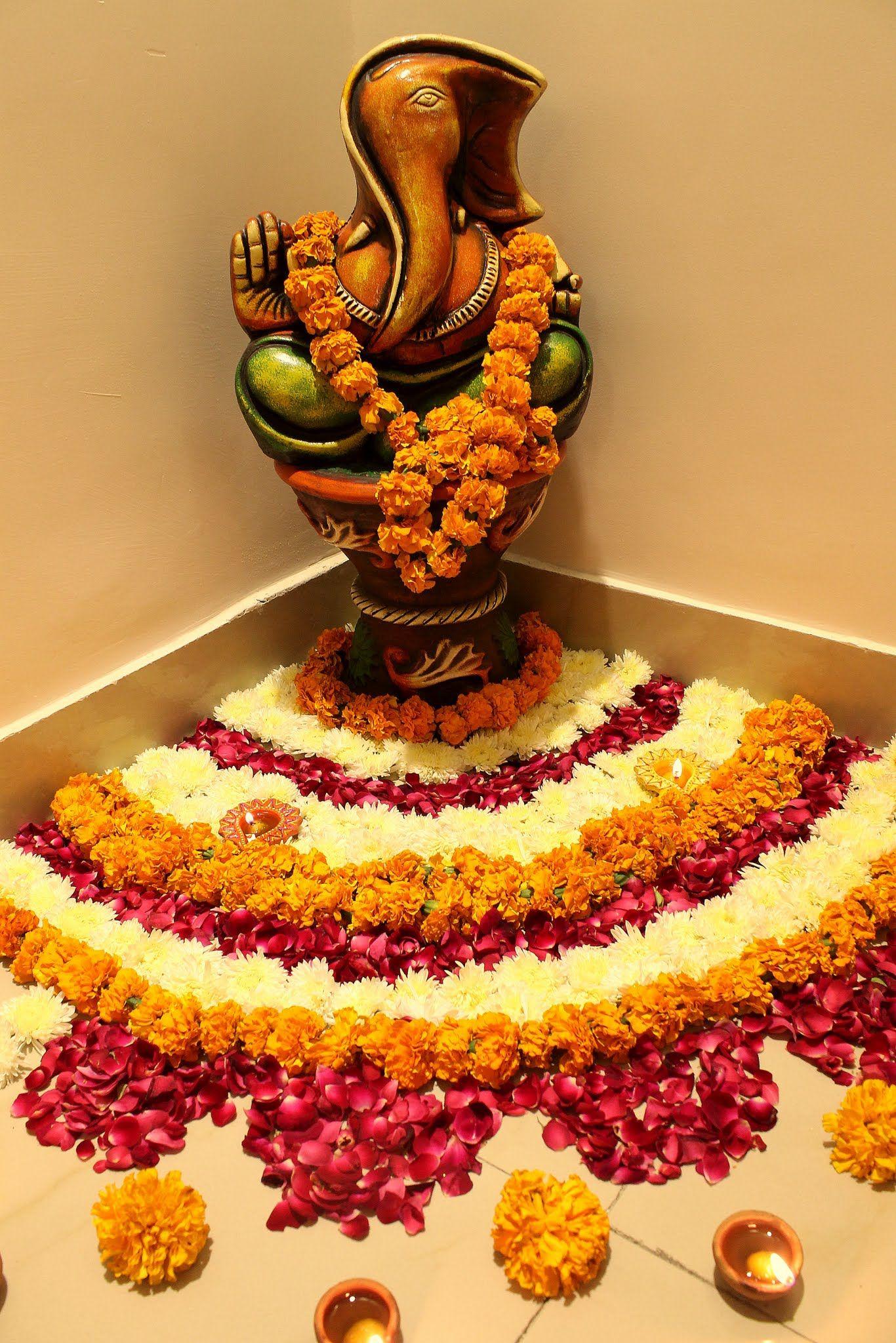 Image result for diwali decoration FLOWER Diwali diy