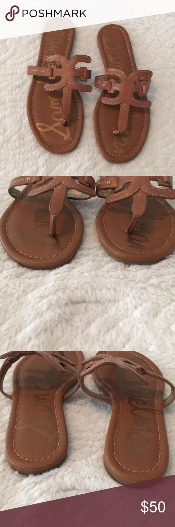 Sam Edelman Carter Tan Sandals Tan Sandals Diy Sandals Brown Leather Sandals
