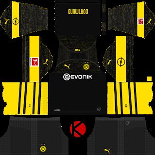 Borussia Dortmund 2018 19 Kit Dream League Soccer Kits Borussia Dortmund Soccer Kits Dortmund