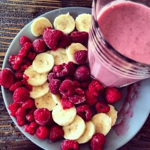 What's for breakfast?  2 Scoops Vi-Shape Nutritional Shake Mix ½ Cup Frozen Raspberries or Fresh 1 banana sliced 10 oz. Non-Fat Milk, or Soy, Rice, or Almond Milk 3-5 Ice Cubes Blend and enjoy! Raspberries are full of fiber and vitamin C and are a wonderful addition to your healthy ViSalus Shakes!  Learn more here: http://www.premiumhealthbyvi.com/ After 1.5 million people took on The Challenge in 2012, The Body by Vi™ Challenge is the #1 Weight Loss.
