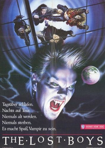 The Lost Boys German Lost Boys Movie Movies For Boys Boys Posters