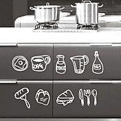 Still Life Kitchen Ware Wall Stickers – EUR € 20.62
