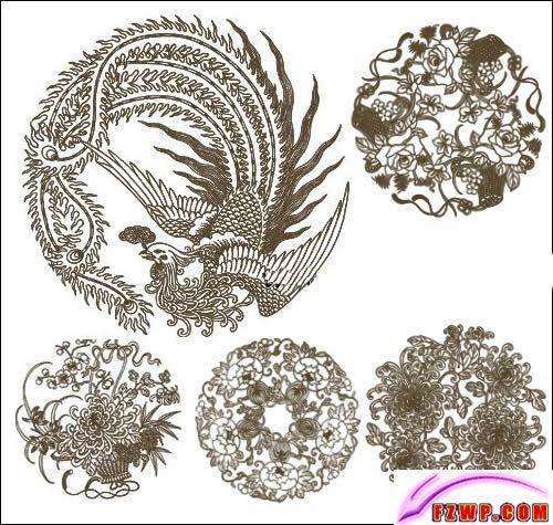 Traditional China Patterns blue china pattern phoenix | phoenix, the traditional pattern of
