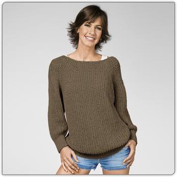 strickmodelle damen pullover