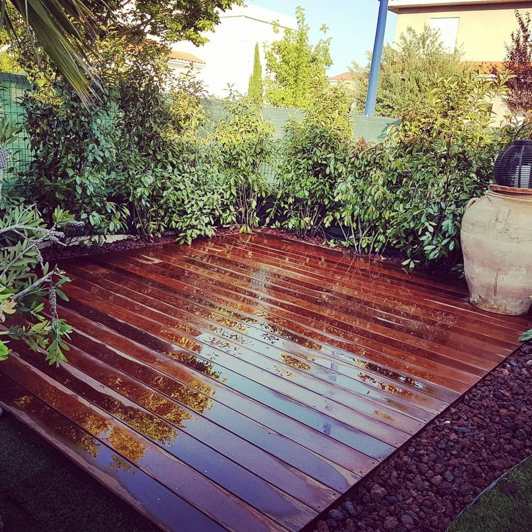 Terrasse En Bois Exotique transformation complète, terrasse en bois exotique et