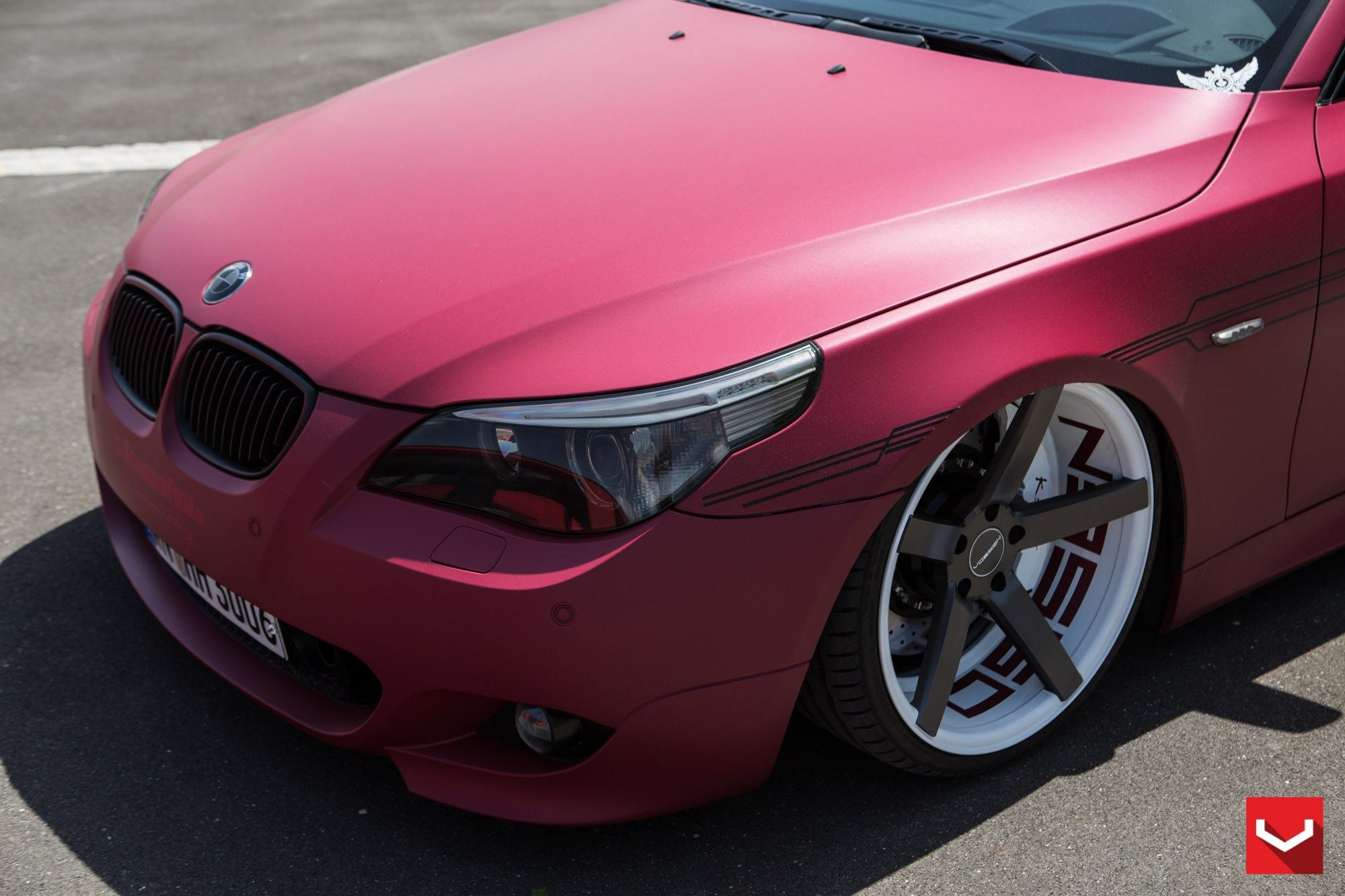 Vossen wheels bmw 5 series vossen cv3r