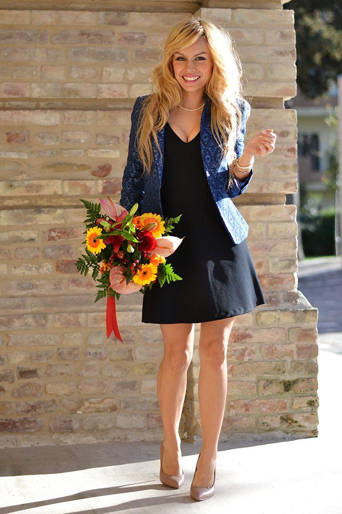 buy online 6074d 7b7e8 Come vestirsi alla laurea look, idee outfit laurea, Zara ...