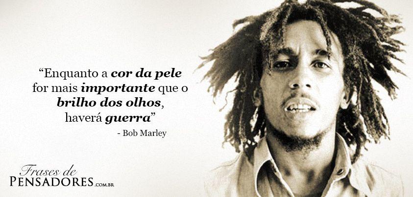 Imagem com Frase para Facebook -  Bob Marley