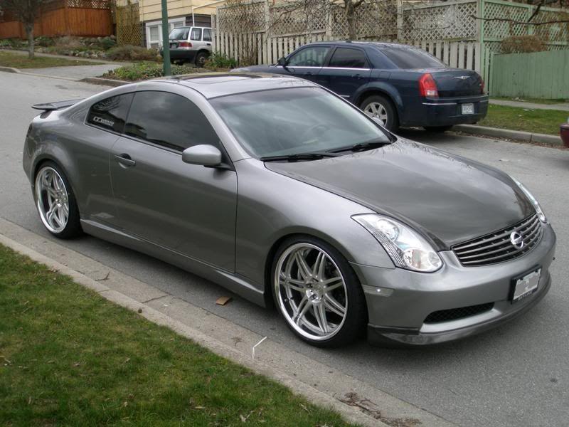 Infiniti G35 Silver Carbon Rides Styling Infiniti Nissan Infiniti Vinyl Wrap Car